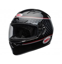 Casque Moto BELL QUALIFIER DLX MIPS BREADWINNER Noir - Blanc 2020