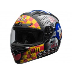Casque Moto BELL QUALIFIER DLX MIPS DEVIL MAY CARE MATTE GRAY 2020