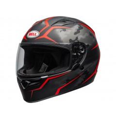 Casque Moto BELL QUALIFIER STEALTH CAMO Noir - Rouge 2020