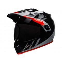 Casque Moto Cross BELL MX-9 ADVENTURE MIPS DASH Noir - Blanc - Orange 2020
