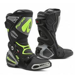 Bottes Moto Racing Forma ICE PRO Noir - Gris - Jaune Fluo