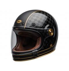 Casque Moto BELL BULLITT CARBON RSD CHECK IT Noir 2020