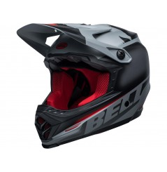 Casque Moto Cross Enfant BELL MOTO-9 YOUTH GLORY Noir Mat - Gris 2021
