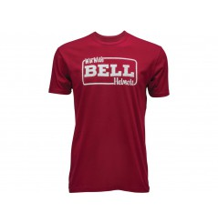 "T-Shirt Homme BELL ""WIN WITH BELL TEE CARDINAL"" Rouge 2020"