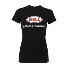 """T-Shirt Femme BELL """"CHOICE OF PROS"""" Noir 2020"""