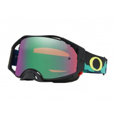 Masque Moto Cross OAKLEY AIRBRAKE MX CAMO ARMY BLUES JEFFREY HERLINGS 2020