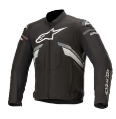 Blouson moto Textile Alpinestars T-GP Plus R v3 - Noir & Blanc