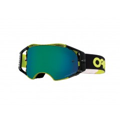 Masque Moto Cross OAKLEY AIRBRAKE MX THUMBPRINT GREEN FACTORY PILOT 2020