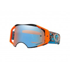 Masque Moto Cross OAKLEY AIRBRAKE MX CAMO VINE NIGHT ORANGE 2020