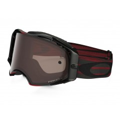 Masque Moto Cross OAKLEY AIRBRAKE MX NEMESIS Rouge - Gris 2020