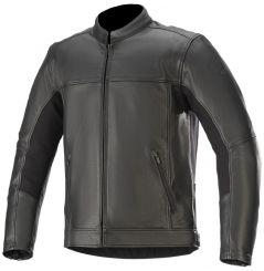 Blouson moto Cuir Alpinestars Topanga - Noir