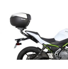 Pack Shad Top Case + Support pour Kawasaki Z650 (16-19) Ninja 650 (17-20)