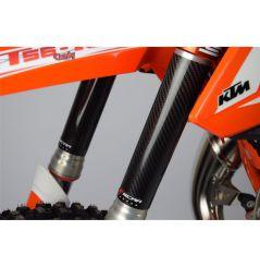 Protection de Fourche Inférieure en Carbone 220X45mm 85cc & 100cc