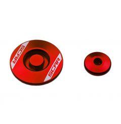 Bouchons Moteur pour CRF450 R (02-20) CRF450 RX (18-20)