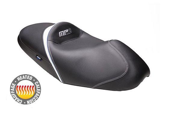 Selle Confort Chauffante Complète Moto SHAD pour MP3 (09-13)