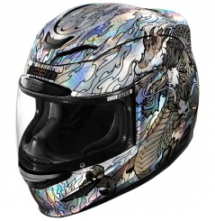 Casque Moto ICON AIRMADA LEGION 2020 Blanc