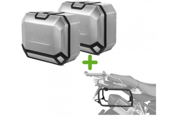 Pack Valises Latérales Terra + Support 4P System pour