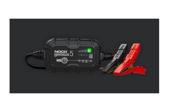 Chargeur de Batterie Moto Intelligent NOCO GENIUS5 6v - 12v 120Ah