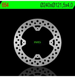Disque de Frein Arrière NG Brake pour CRF250RX (19-20) CRF450RX (17-20)
