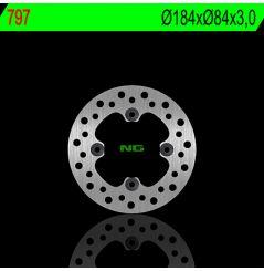 Disque de Frein Arrière NG Brake pour KX 85 (01-20)
