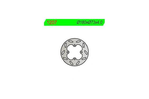 Disque de Frein Quad - SSV Avant NG Brake pour Polaris Scrambler 500 4x2 (01-02) Scrambler 500 4x4 (10-12)