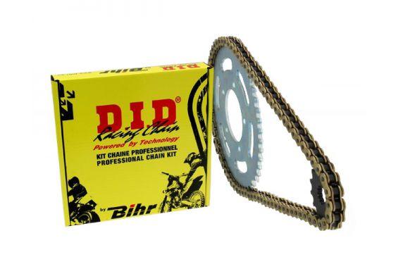 Kit Chaine Renforcé DID pour Ducati 750 Monster (98-01) 750 Monster Dark (02) et Monster 750 IE (02)