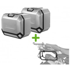 Pack Valises Latérales Terra + Support 4P System pour Tiger 900 / GT / Rally (2020)