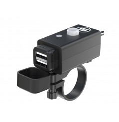 Chargeur SO EASY RIDER avec Double Prise USB