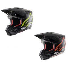 Casque Moto Cross ALPINESTARS SM5 COMPASS, ECE 2021