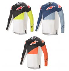 Maillot Cross ALPINESTARS TECHSTAR FACTORY, ECE 2021