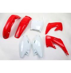 Kit Plastique UFO pour Moto Honda CR125 R (02-03) CR250 R (02-03) - Couleur Origine