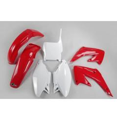 Kit Plastique UFO pour Moto Honda CR125 R (04) CR250 R (04) - Couleur Origine