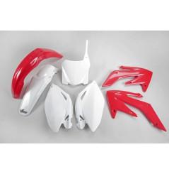 Kit Plastique UFO pour Moto Honda CRF250 R (09) - Couleur Origine