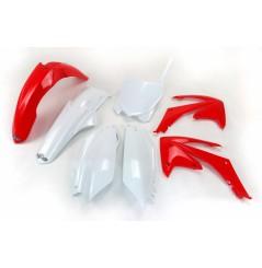 Kit Plastique UFO pour Moto Honda CRF250 R (11-13) CRF450 R (11-12) - Couleur Origine