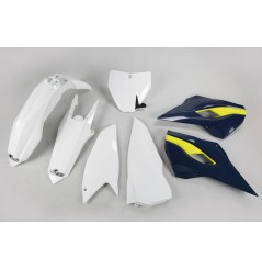 Kit Plastique UFO pour Moto Husqvarna TC250 (16) | Couleur Origine