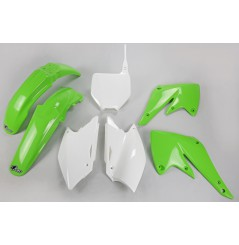 Kit Plastique UFO pour Moto Kawasaki KX250 F (04) - Couleur Origine