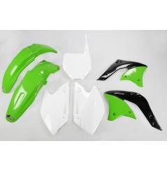 Kit Plastique UFO pour Moto Kawasaki KX250 F (06) - Couleur Origine