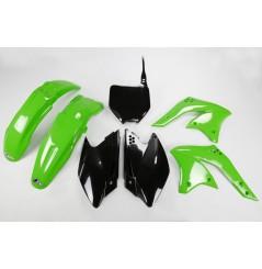 Kit Plastique UFO pour Moto Kawasaki KX250 F (08) - Couleur Origine
