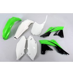 Kit Plastique UFO pour Moto Kawasaki KX250 F (13-16) - Couleur Origine 2014-2015