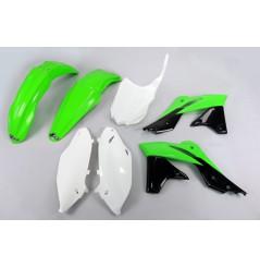 Kit Plastique UFO pour Moto Kawasaki KX250 F (13-16) - Couleur Origine 2016