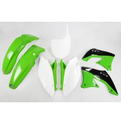 Kit Plastique UFO pour Moto Kawasaki KX450 F (09-11) - Couleur Origine