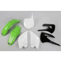 Kit Plastique UFO pour Moto Kawasaki KX85 (01-11) - Couleur Origine