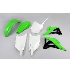 Kit Plastique UFO pour Moto Kawasaki KX85 (14-20) - Couleur Origine