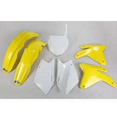 Kit Plastique UFO pour Moto Suzuki RM-Z450 (05-06) - Couleur Origine