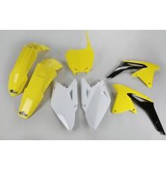 Kit Plastique UFO pour Moto Suzuki RM-Z450 (09-10) - Couleur Origine