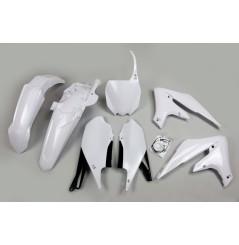 Kit Plastique UFO pour Moto Yamaha YZ450 F (18-20) - Couleur Blanc