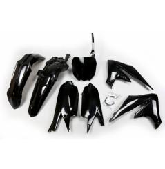 Kit Plastique UFO pour Moto Yamaha YZ450 F (18-20) - Couleur Noir