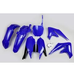 Kit Plastique UFO pour Moto Yamaha YZ450 F (18-20) - Couleur Bleu