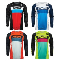 Maillot Cross Enfant THOR PULSE RACER 2021