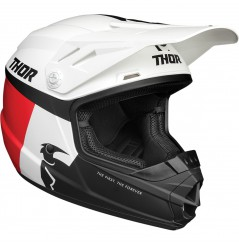 Casque Cross Enfant THOR SECTOR RACER 2021 Blanc